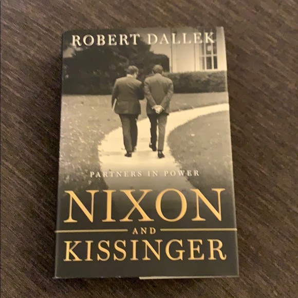 BOOK NIXON AND KISSINGER